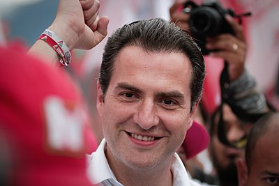Adrián de la Garza es el líder en las encuestas para gubernatura de NL