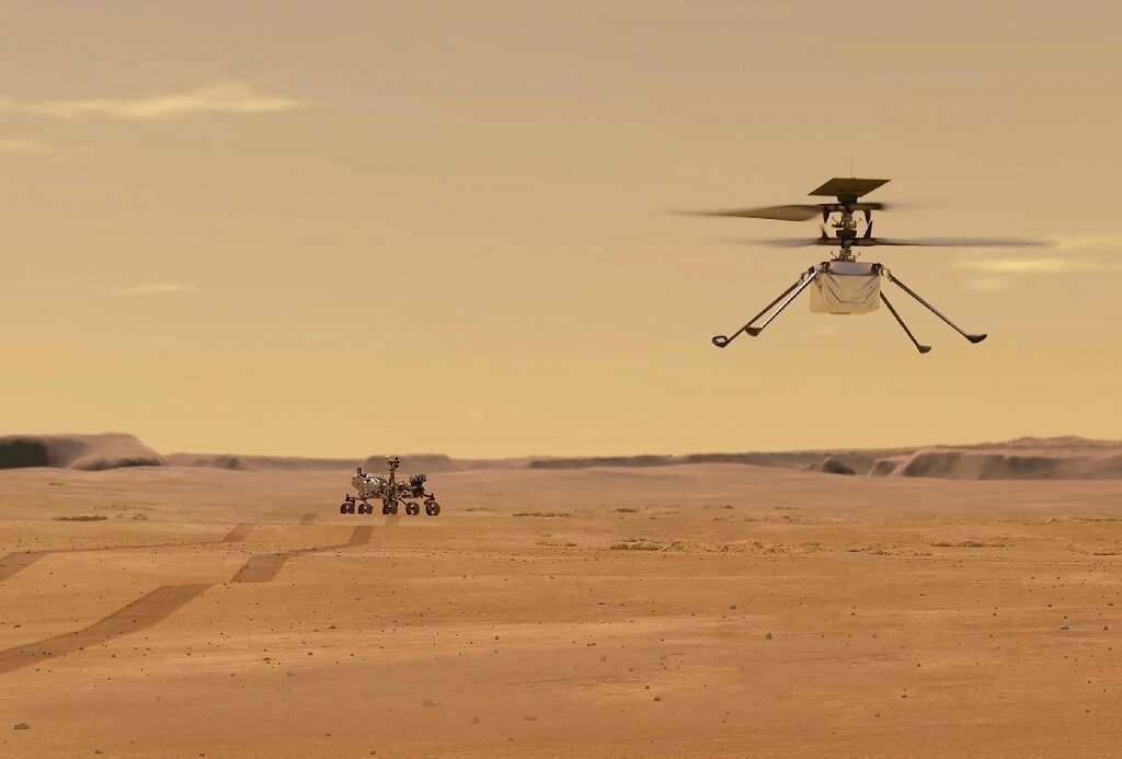 El helicóptero Ingenuity realiza con éxito su segundo vuelo a Marte