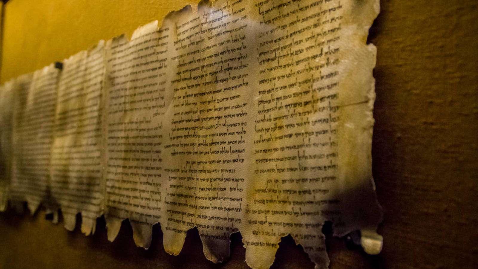 Revelan parte del misterio de los milenarios Rollos del Mar Muerto