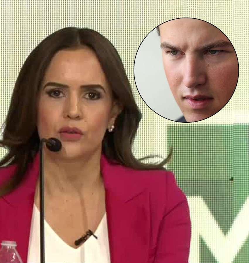 Clara Luz Flores y Samuel García cruzaron duras acusaciones
