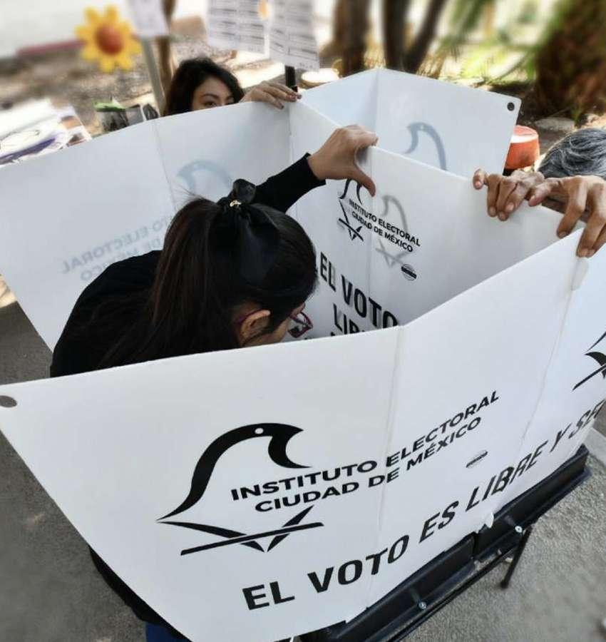 Se perfila voto de castigo a Morena en la capital del país