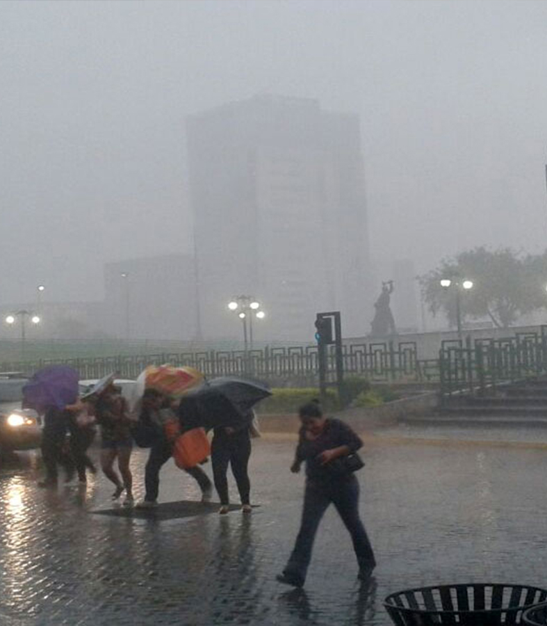 Conagua prevé lluvia en 21 estados