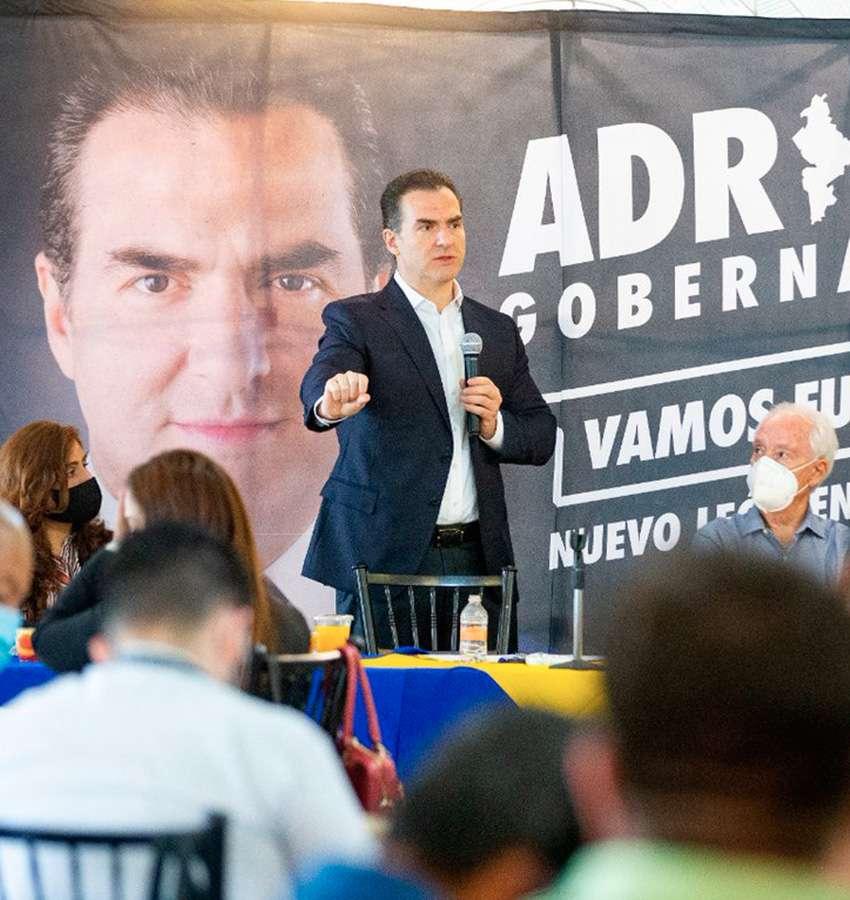 Sistema de Inteligencia en Seguridad, propone Adrián de la Garza.