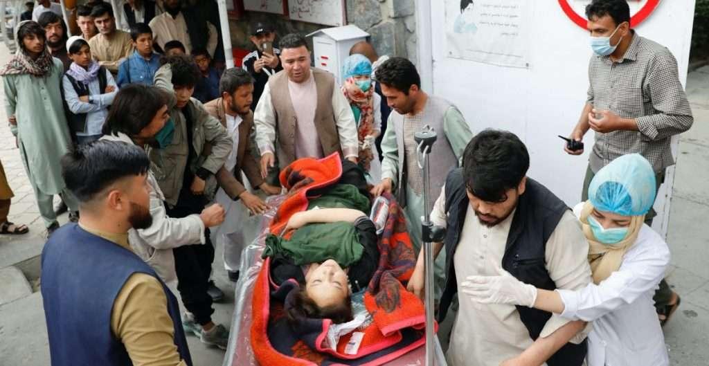 Al menos 40 muertos en un atentado contra una escuela en Kabul, Afganistán