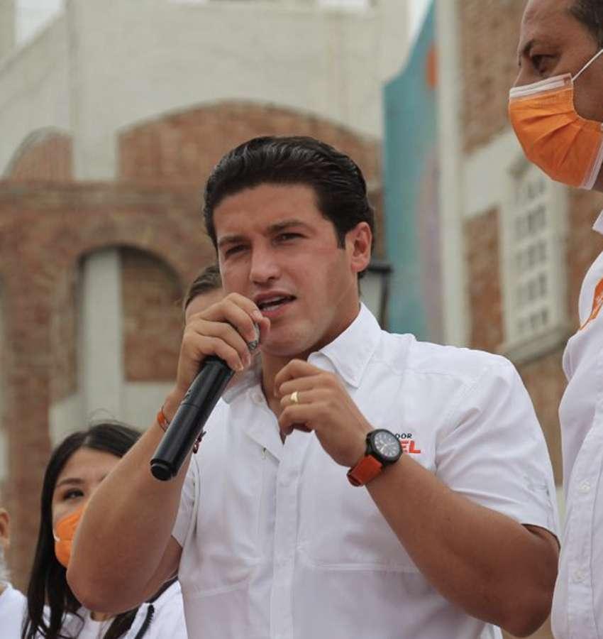 Samuel García confía en ganar este 6 de junio con un millón de votos.