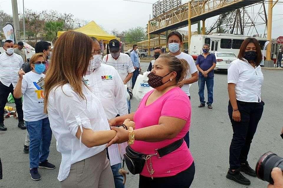 Protegerá Clara Luz Flores a mercados rodantes de sindicatos corruptos