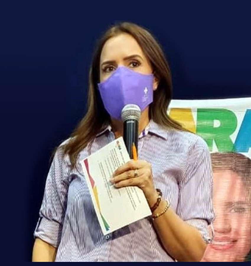 Clara Luz Flores denuncia amenazas a candidatos de su coalición