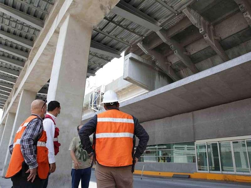 Gobierno del Estado revisa línea 1 y 2 del metro