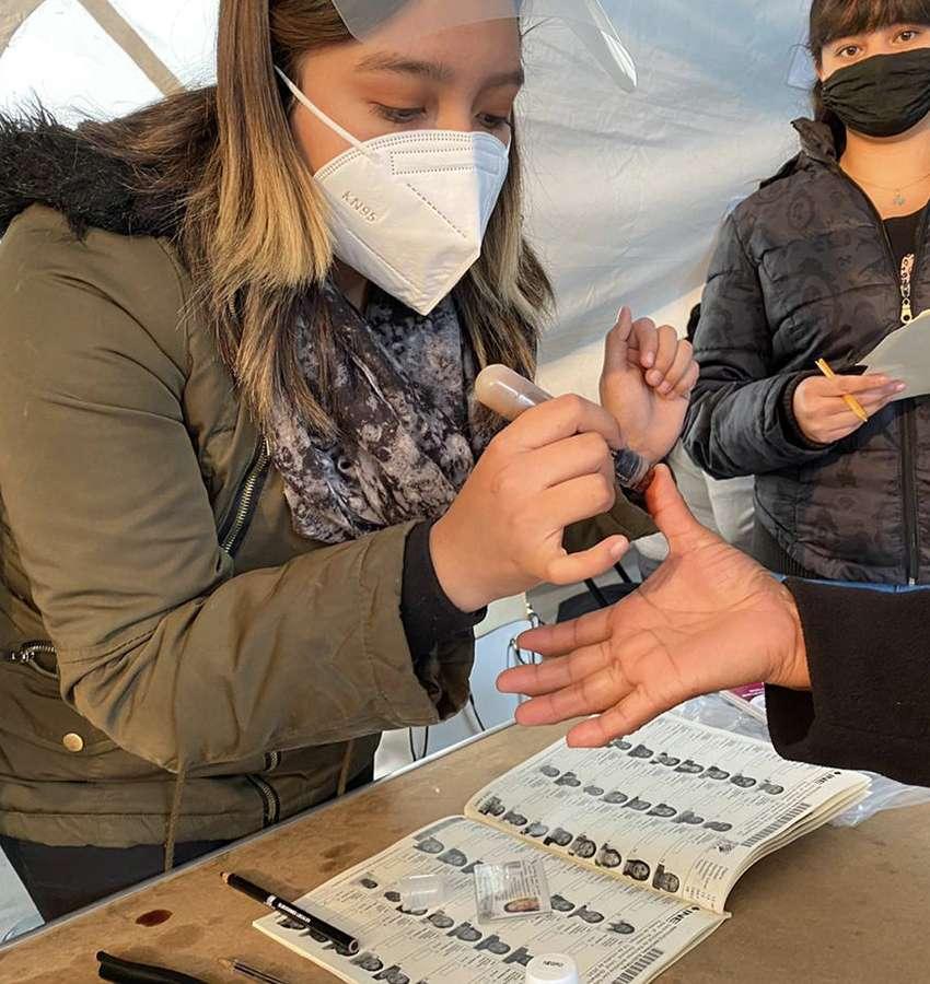Elecciones seguras en Nuevo León en materia sanitaria.
