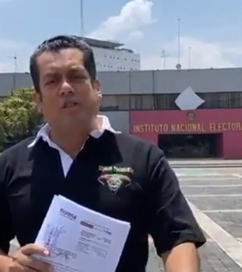 Denuncia Morena el trabajo de Mariana Rodríguez a favor de Samuel García
