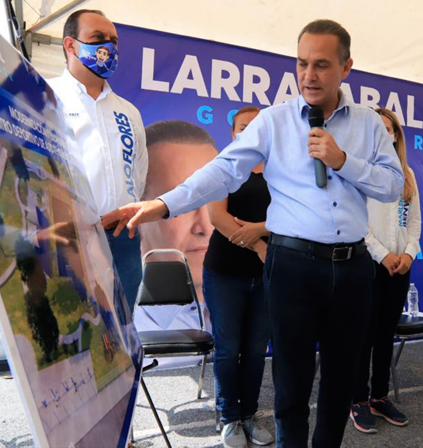 Centro de alto rendimiento para deportistas en Apodaca, compromiso de Larrazabal.