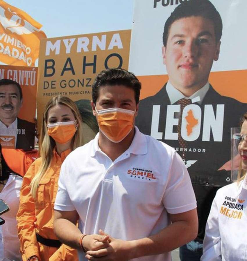 Samuel García, confiado en derrotar a la vieja política este 6 de junio.