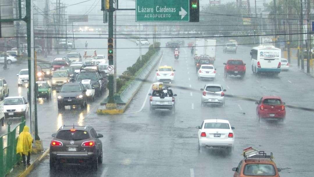Se esperan lluvias de moderadas a fuertes durante las próximas horas en Nuevo León